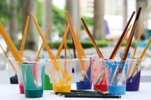 Art Lab for Toddlers and Preschoolers @ Rancho San Diego Library