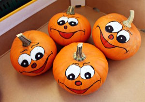 Pumpkin Painting at the Library @ Rancho San Diego Library